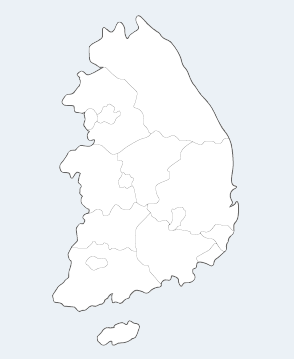 지역별 지사 검색 지도