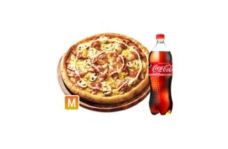 도미노 포테이토 피자(M)