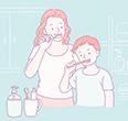 건강을 위해 매일 지켜야 할 위생 수칙이 있다. 그 중 하나는 '이 닦기'다.