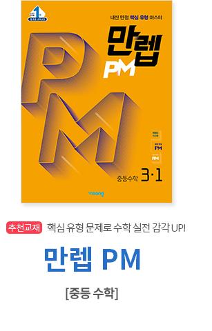 만렙 PM 중등수학 3-1